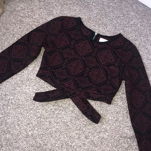 Kendall and Kylie long sleeve